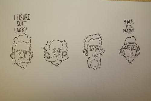 Mustache Bandits