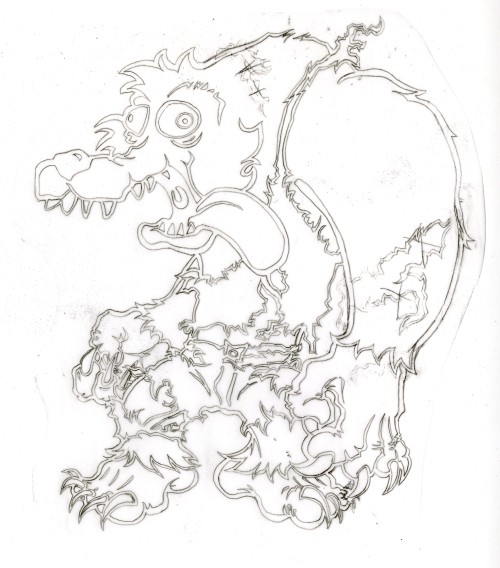 wolfmandan_outline